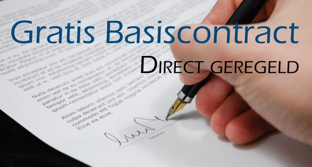 Gratis Basiscontract